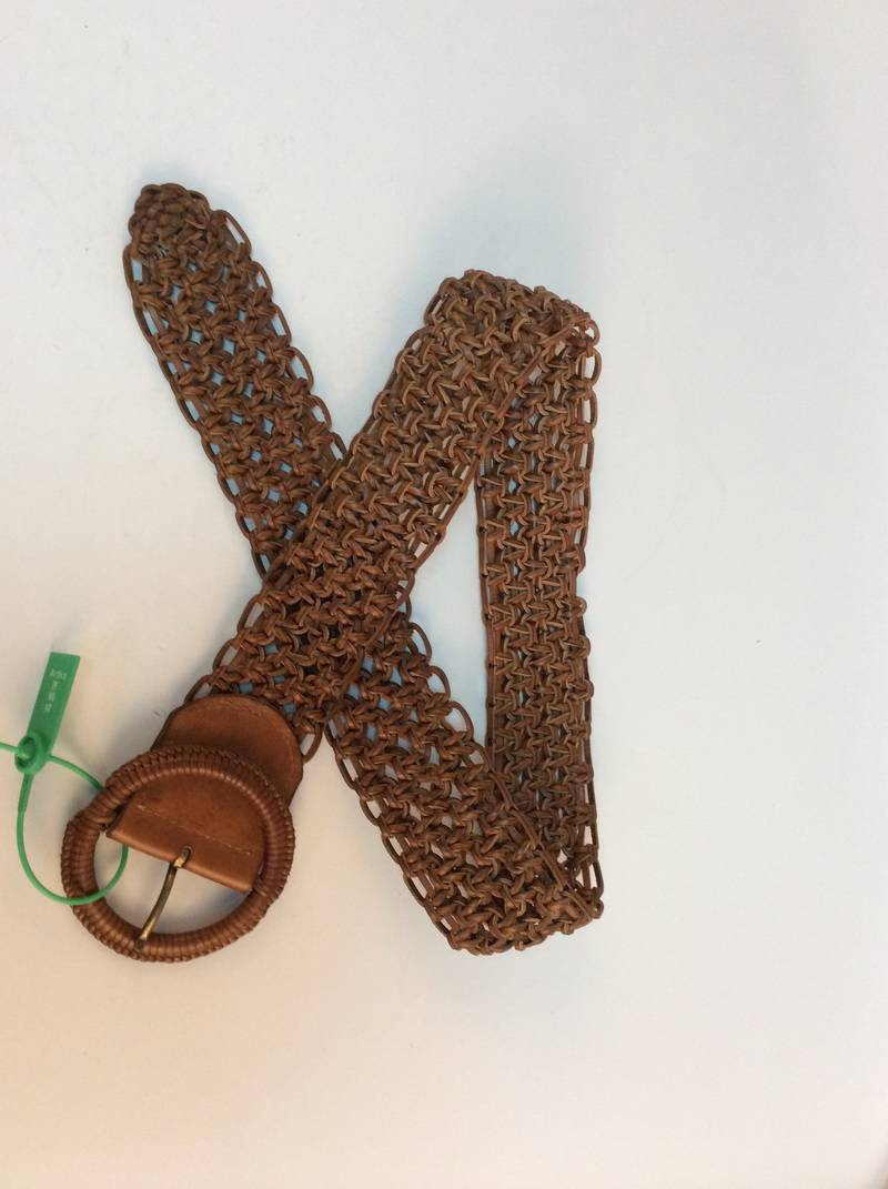 100% Genuine Leather Braided Belts