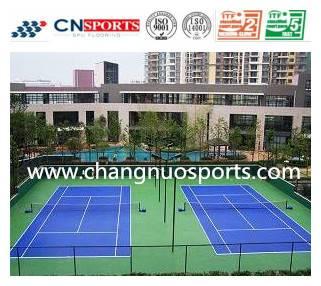 CN-S02 SPU tennis sports flooring