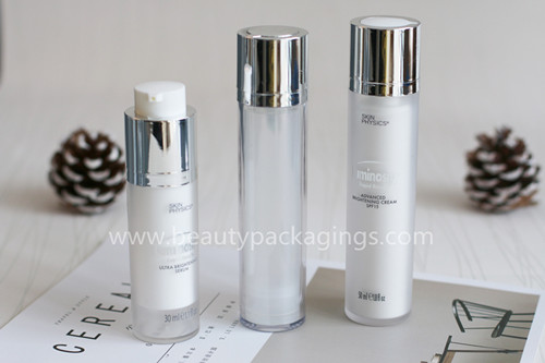 Airless Pump Bottle For Skin Care Facial Lotion