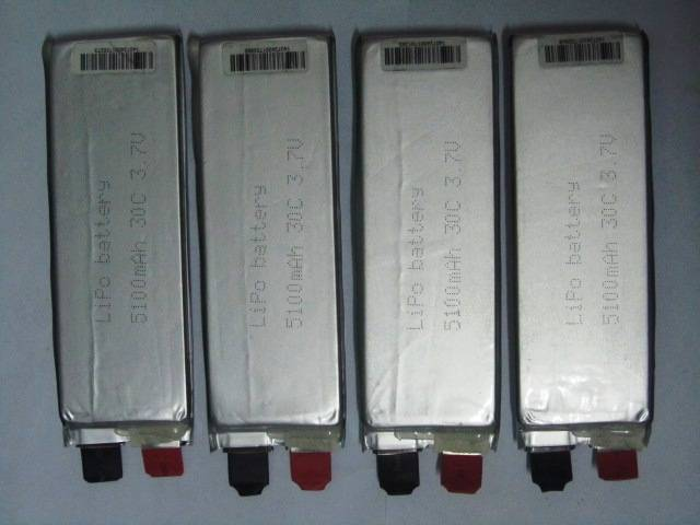 1143128 30C 3.7V 5100mAh batteries cell