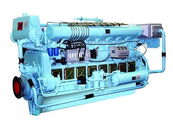 N160 Marine diesel engine