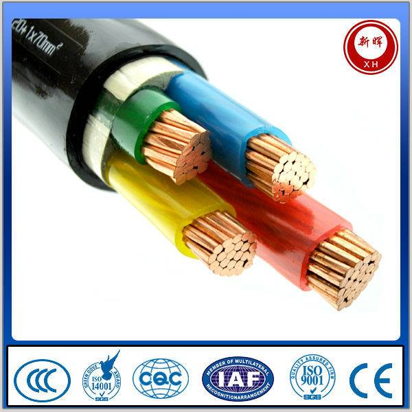 0.6/1KV PVC insulation power cable