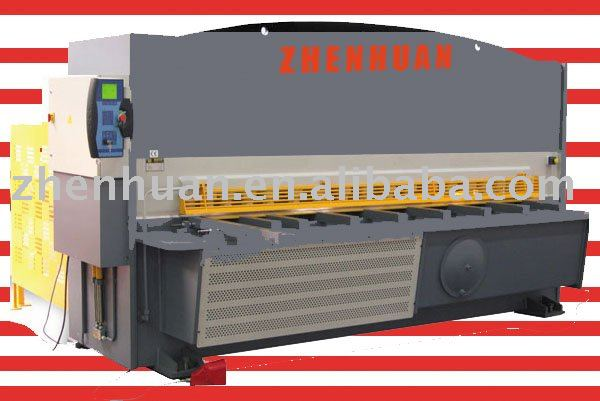 CNC Hydraulic swing shearing machine, shearer, hydraulic guillotine, CNC shearing machine