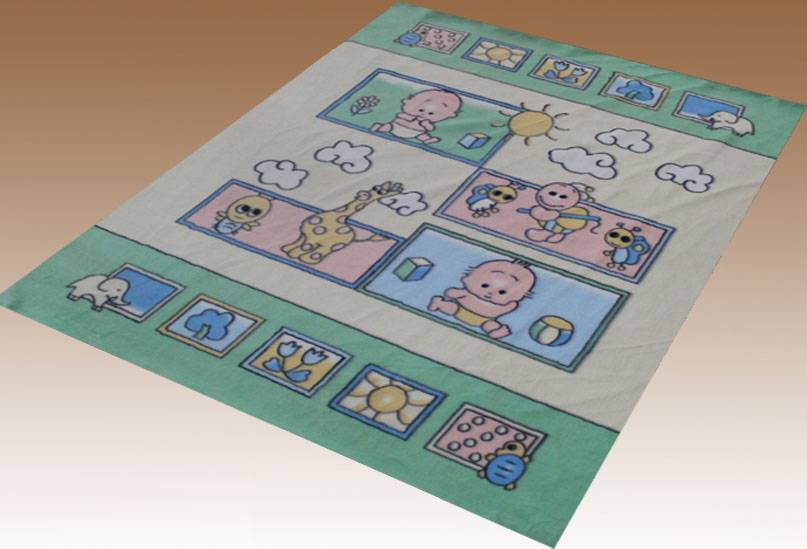 Super Soft Cloudy Baby Blanket