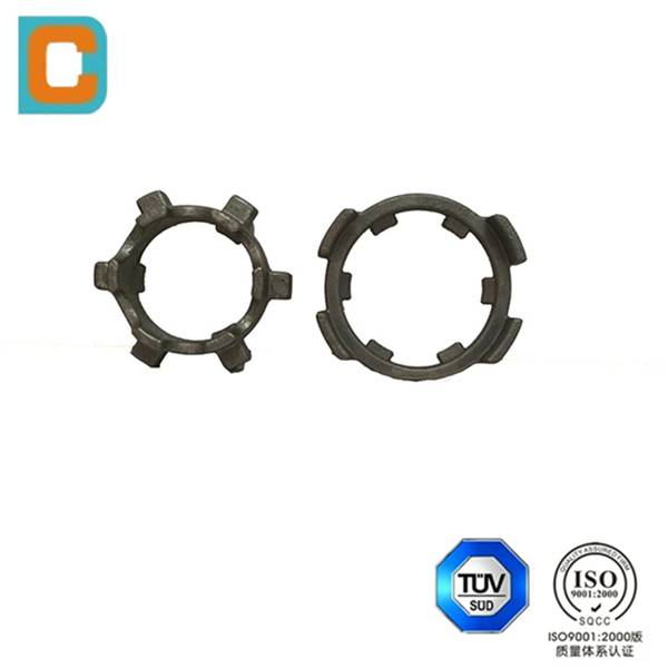 Steel casting heat-resistant parts for heat treatment furnace