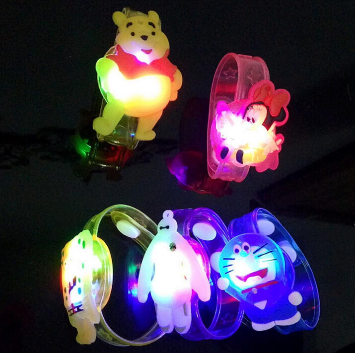 LED children silicone bracelet