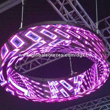 DGX P4 indoor circular ring LED screen