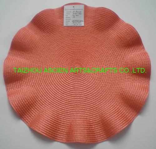 Flower Placemats YS-PP12-006RF Anti-Slip Waterproof