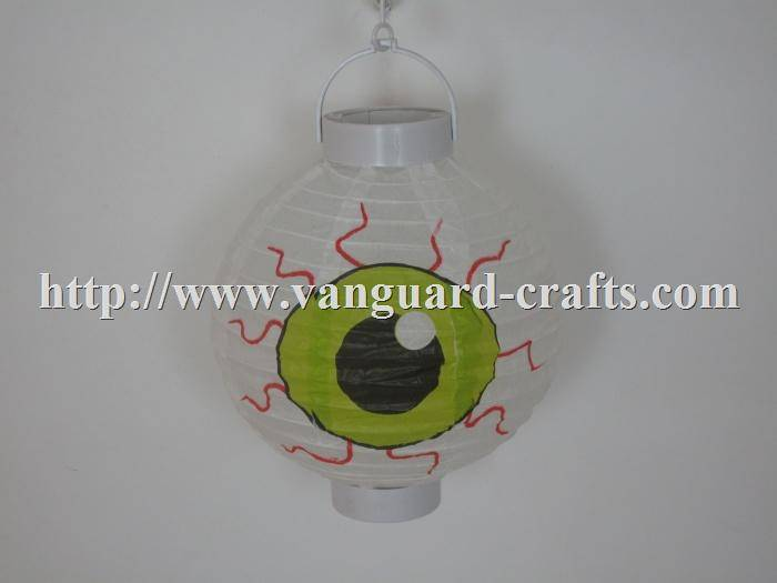 LED Holiday Eyes  Paper Lantern Light