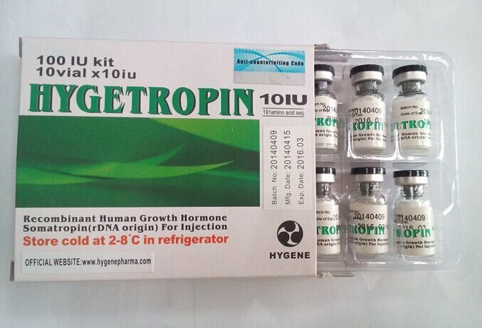Hygetropin with serial number, black top