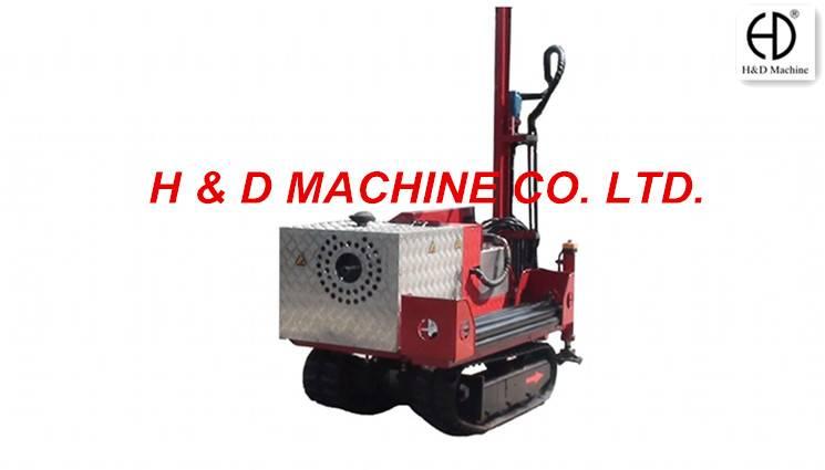 HD-C30A Crawler Drilling Rig