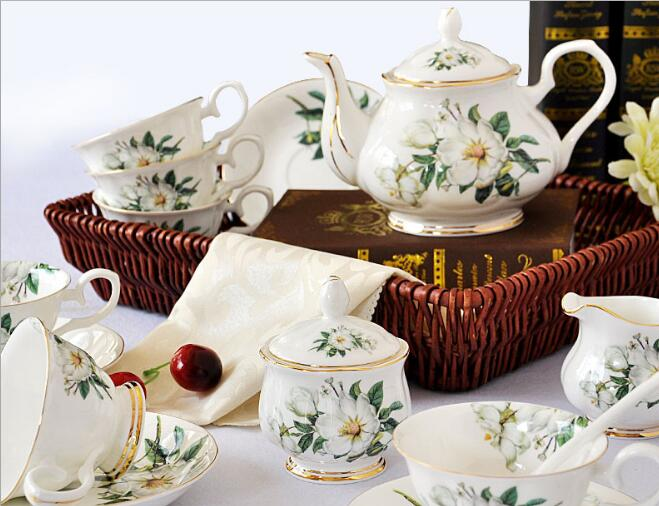 Fine Bone China Coffee Set Tea Set Wholesale
