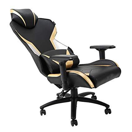 Moolo E-Sports Game Chair Ergonomic Executive Racing PU Leather High Back Boss Beauty Massage Gambli