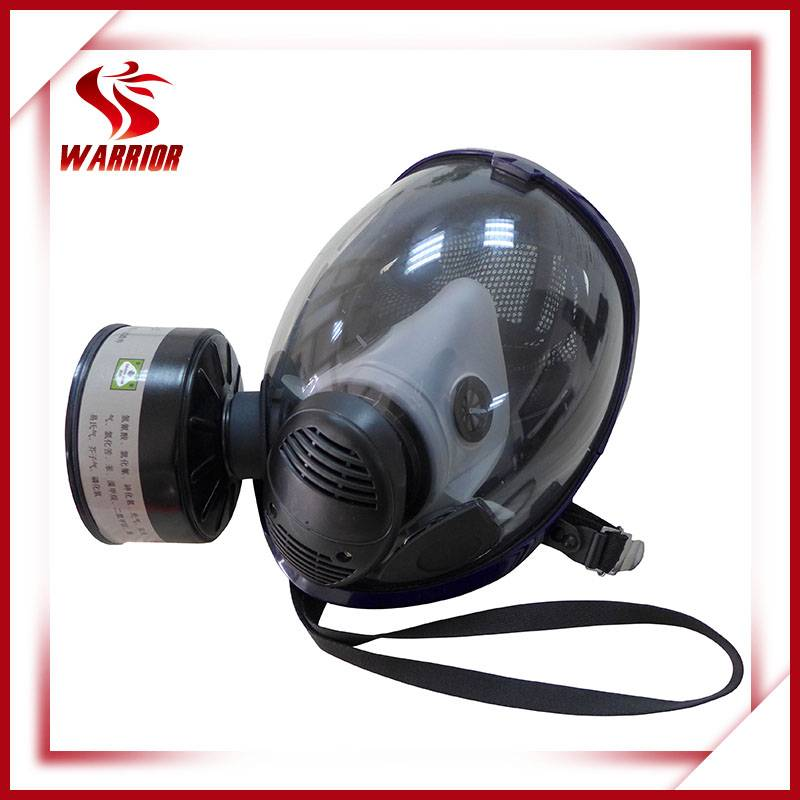 Chemical protective safety gas mask with cartridge &filter