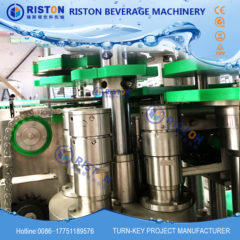 Hot sale excellent quality carbonated beverage can filling machine factory
