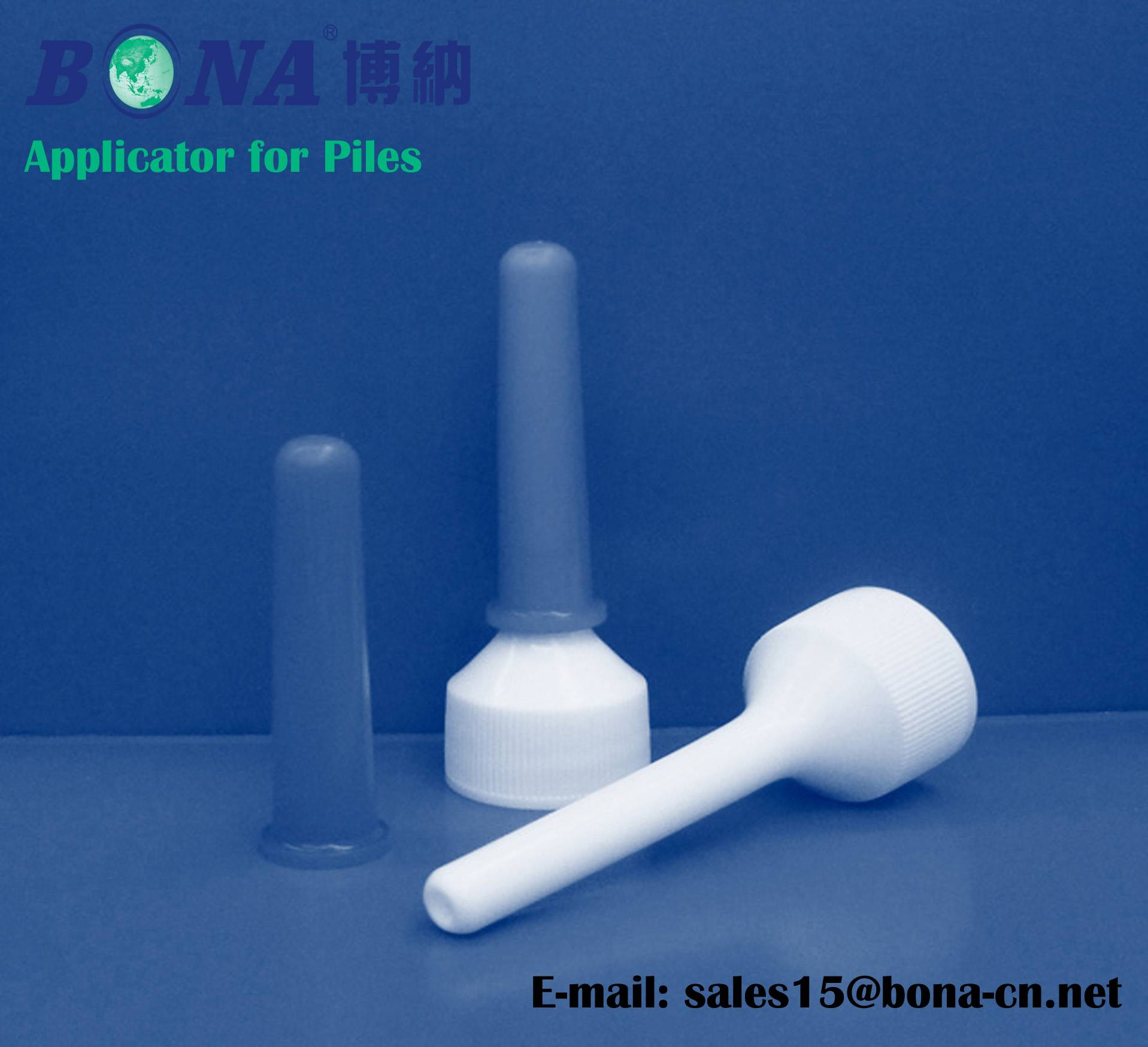 Applicator for Piles