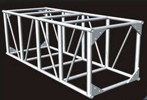 Truss System, Outdoor Truss, Event Truss Aluminum Square Truss, Bolt Truss, Square Bolt Truss