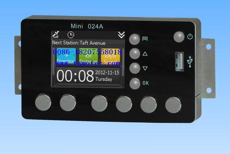 GPS Bus stop audio auto play device
