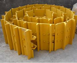 Shantui bulldozer SD16 track shoe 203MA-37151 undercarriage parts high quality in stock