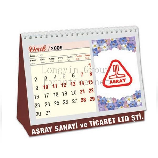 2016 Desk Calendar Printing Service,Company Calendar Printing