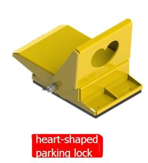 heart shaped parking lock