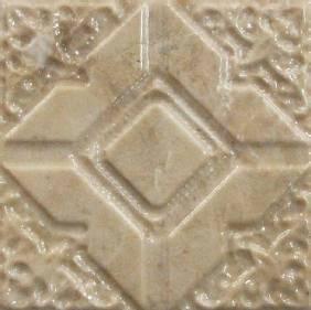 caving antique tile
