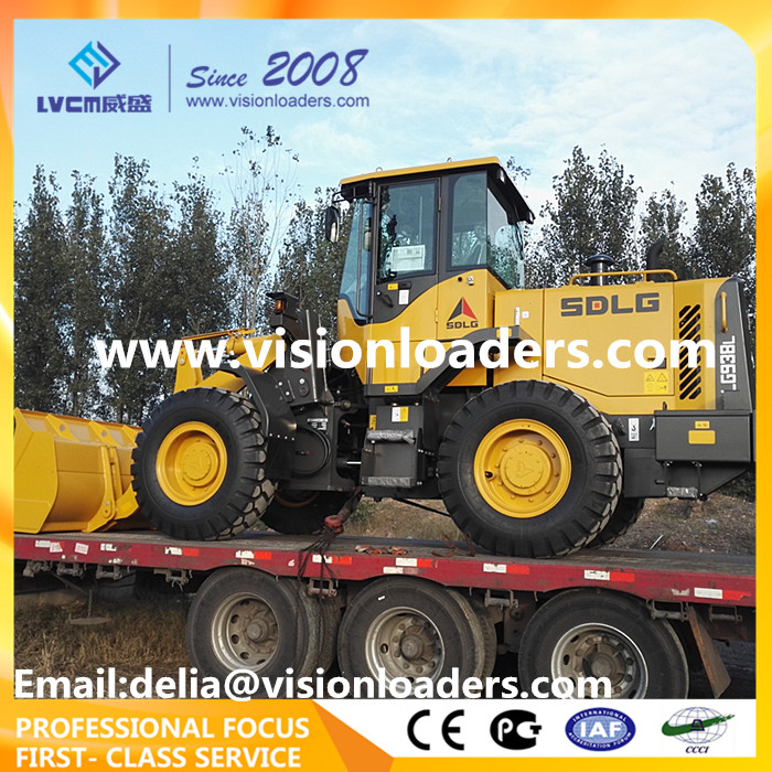 SDLG Wheel loader LG938L Excavator loader L938F with Volvo Technology