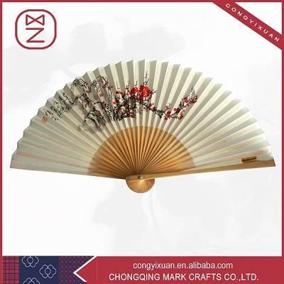 Popular Bamboo Fabric Fan &Paper Hand Fan