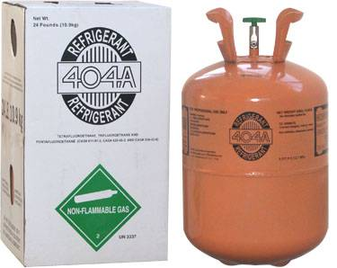 R404a refrigerant gas MIN 99.8% Purity Hot Sales