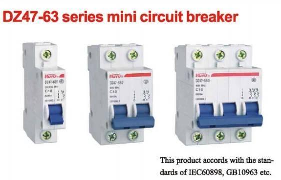 DZ47-63 Series Mini Circuit Breaker