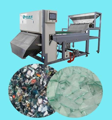 Intelligent image prossing CCD Color Sorter for Cullet