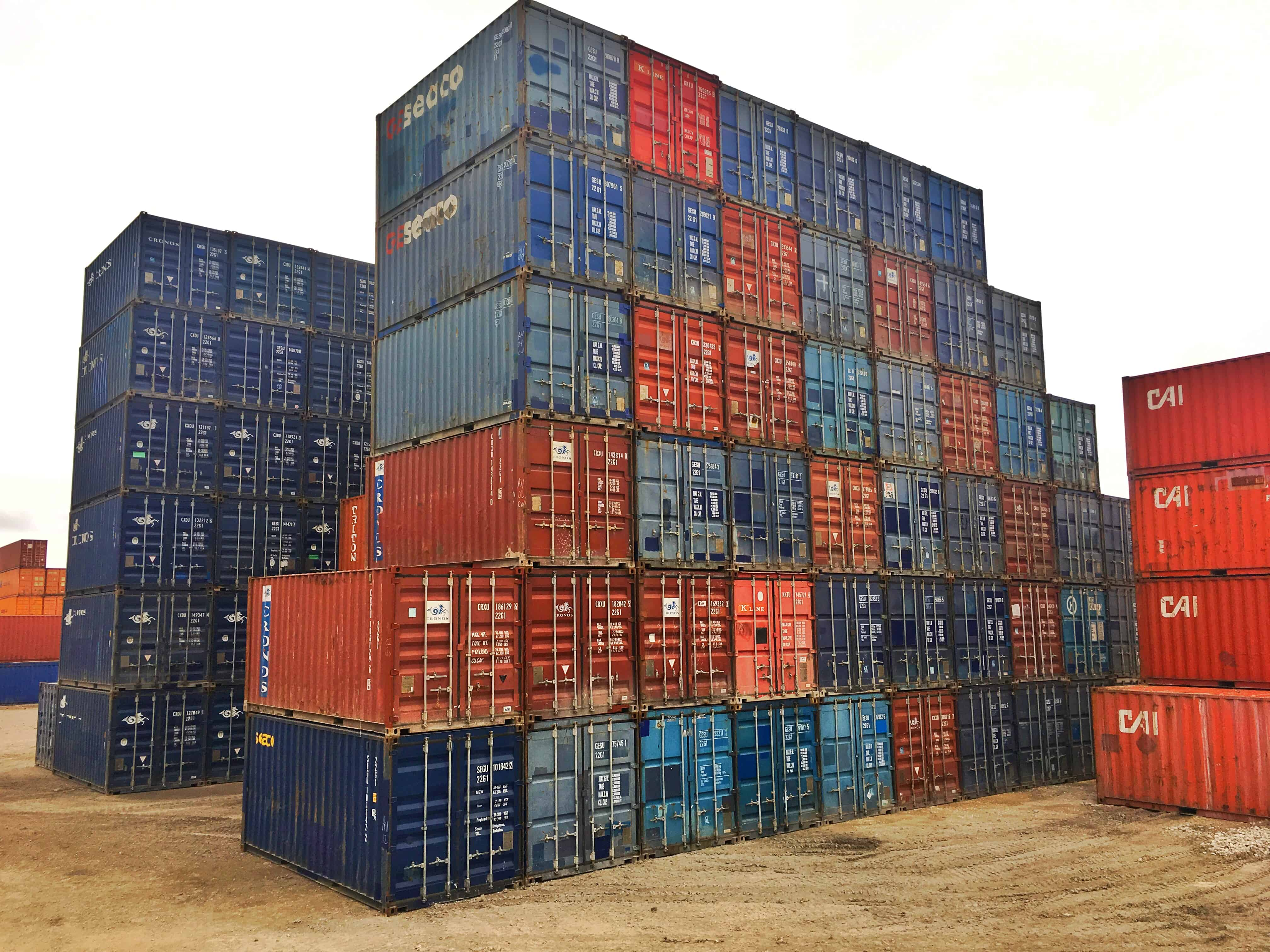 Cheapest 40 Ft 20 Ft Used Cargo Shipping Container Prices ...