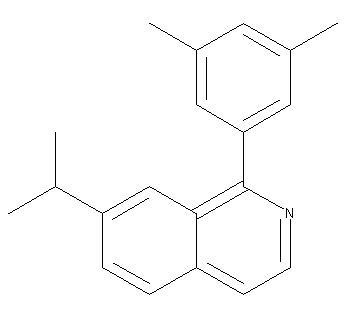 1-(3,5-dimethylphenyl)-7-(1-methylethyl)-Isoquinoline