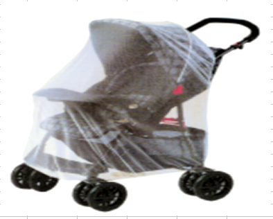 MOSQUITO NET FOR TROLLEY