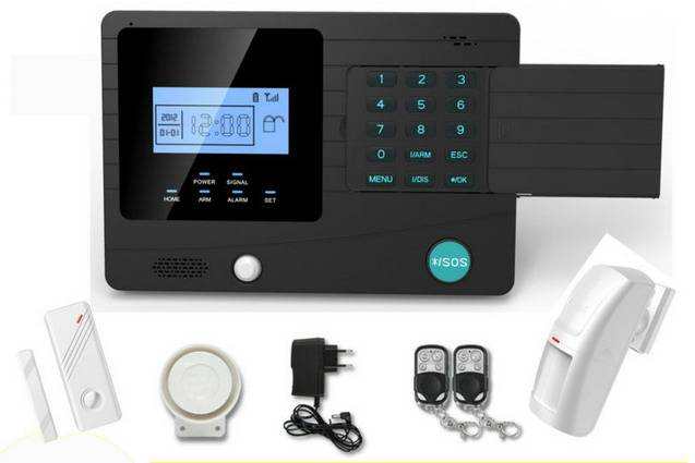 GSM alarm system with PIR wireless alarm function IR-M2K gsm alarm
