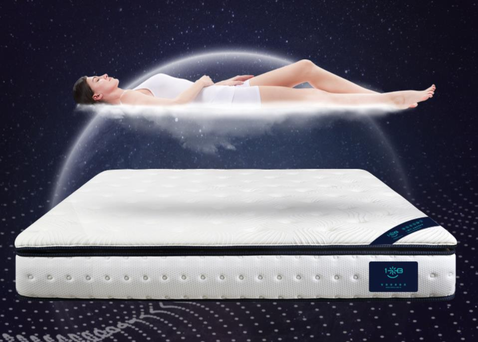 Functional memory foam mattress with tencel cover