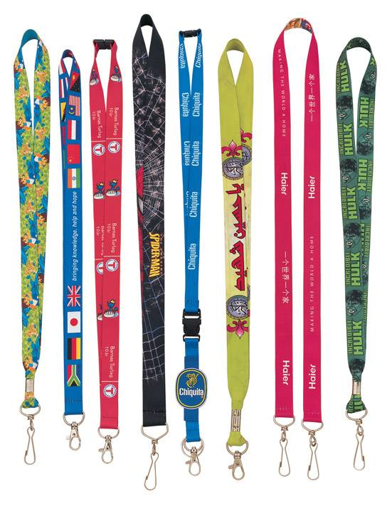 high quality polyester lanyards nylon lanyards with company logo