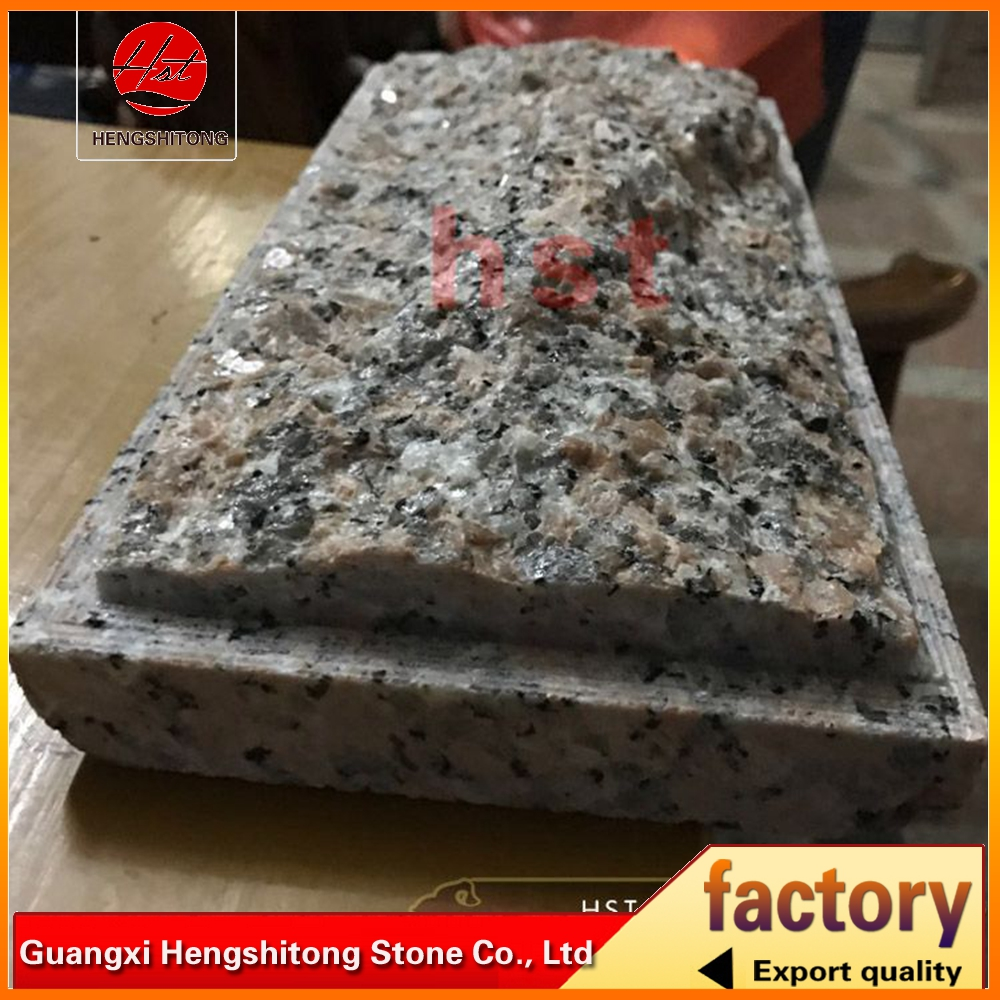 cenxi red granite tiles with mushroom surface for exterior wall cladding