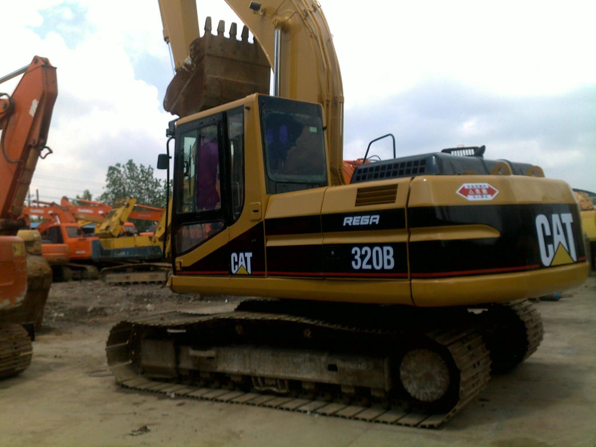 used excavator 320B,CAT 320B for sale
