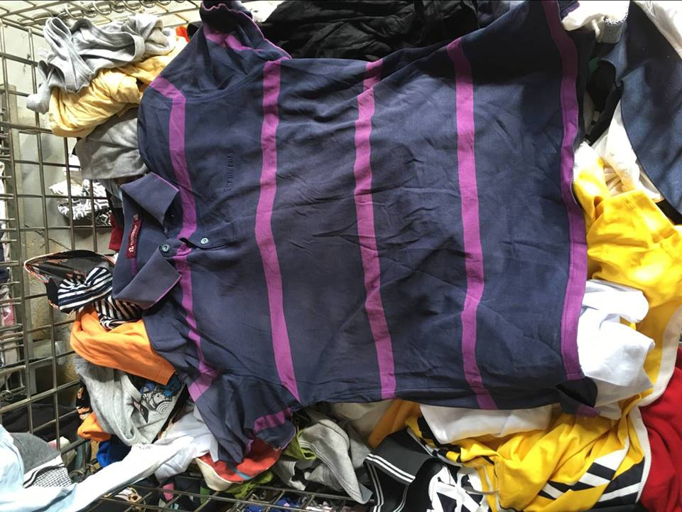 used polo shirt men polo used clothes sale high quality second hand clothing