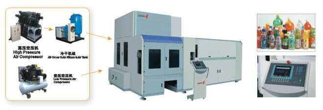 DMK-R10 Fully-Auto Rotary PET Blowing Molding Machine