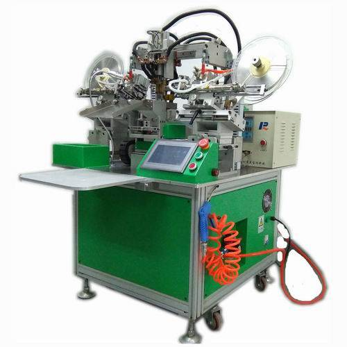 I Shape PCB & Nickel Sheet Spot Welding Machines for Mobile Cell Phone Batteries Automatic Making Pr
