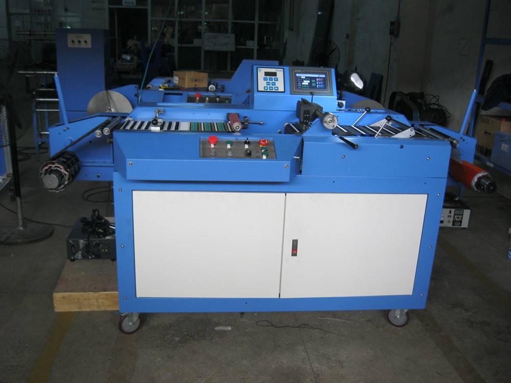Woven label ultrasonic slitting machine