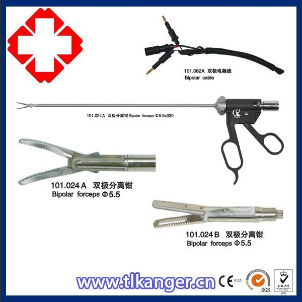 Medical device of surgical instrument reusable bipolar forceps