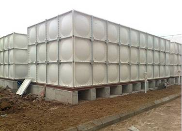 square plastic water storage tank/FRP SMC Water Tank / food grade Fiberglass SMC water tank