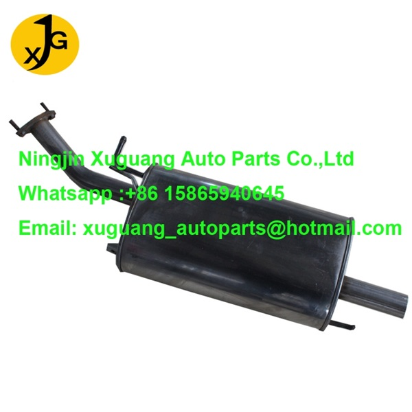 Chery A5 rear section exhaust muffler