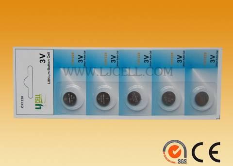 Li-ion 3.6V Rechargeable Batteries (LIR1220)