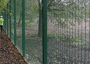 High-security Anti-climb Fence