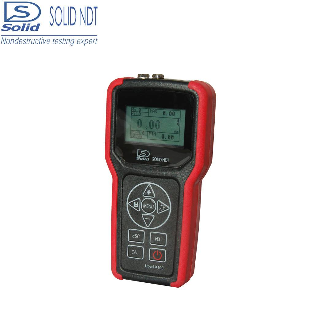 Solid Upad X100 portable ultrasonic thickness gauge