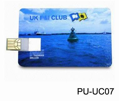 2016 Super Thin Credit Card Shape USB Flash Drive 1GB-64GB with Free Logo